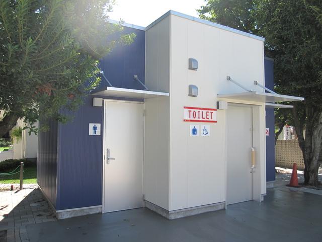 東京都立川市 A社住宅公園トイレ棟新築工事 写真